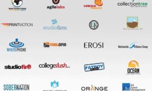 Visual stimulation with logo design