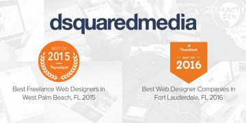 """Dsquared: """"Best of Thumbtack"""" Web Design Company for Two Years Running"""